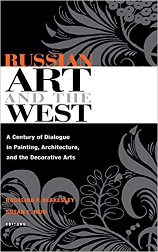 book cover russian art and west
